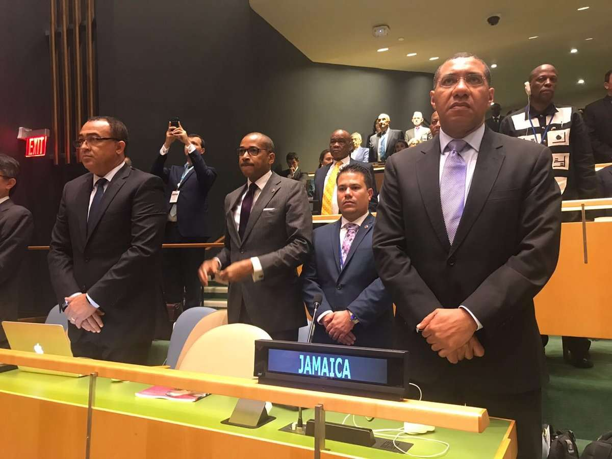 Holness Urges World Leaders to Commit to Peaceful Coalitions
