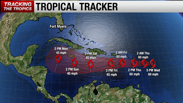 Brace for Heavy Rains Associated with TS Isaac