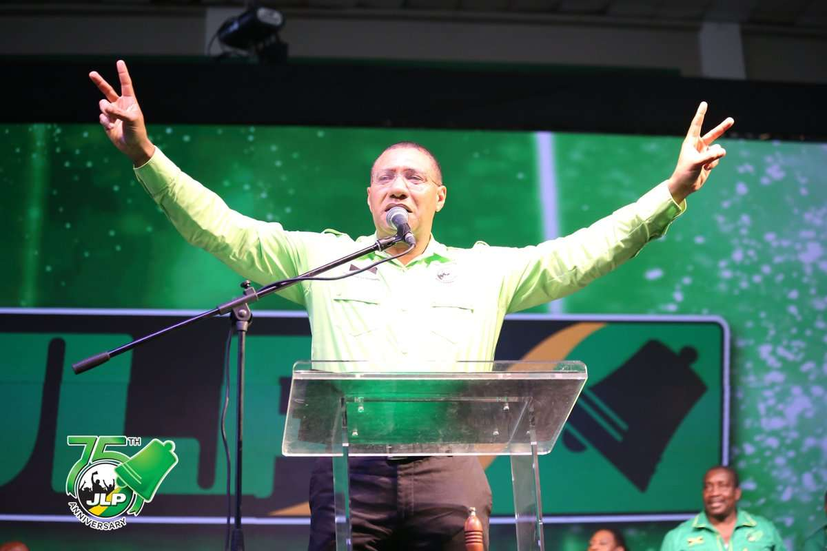 NNN/Blue Dot Poll: 69% Of Jamaicans View Holness-admin As Corrupt But Want  JLP To Get Second Term