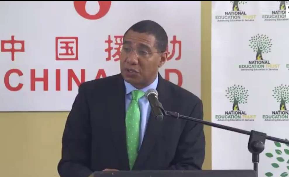 Holness Moves to Dispel 'Fear-Mongering' about Chinese Investments