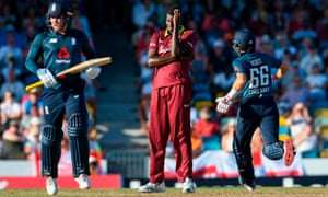 W'Indies Fail to Defend Record Total in First ODI vs England