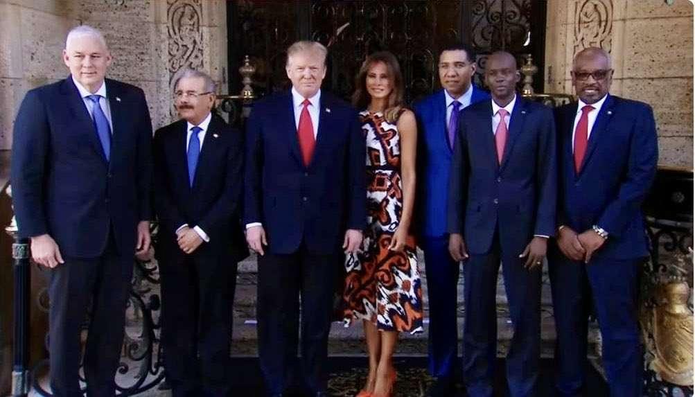 Trump Meets with Five Caribbean Leaders Regarding Venezuela Crisis