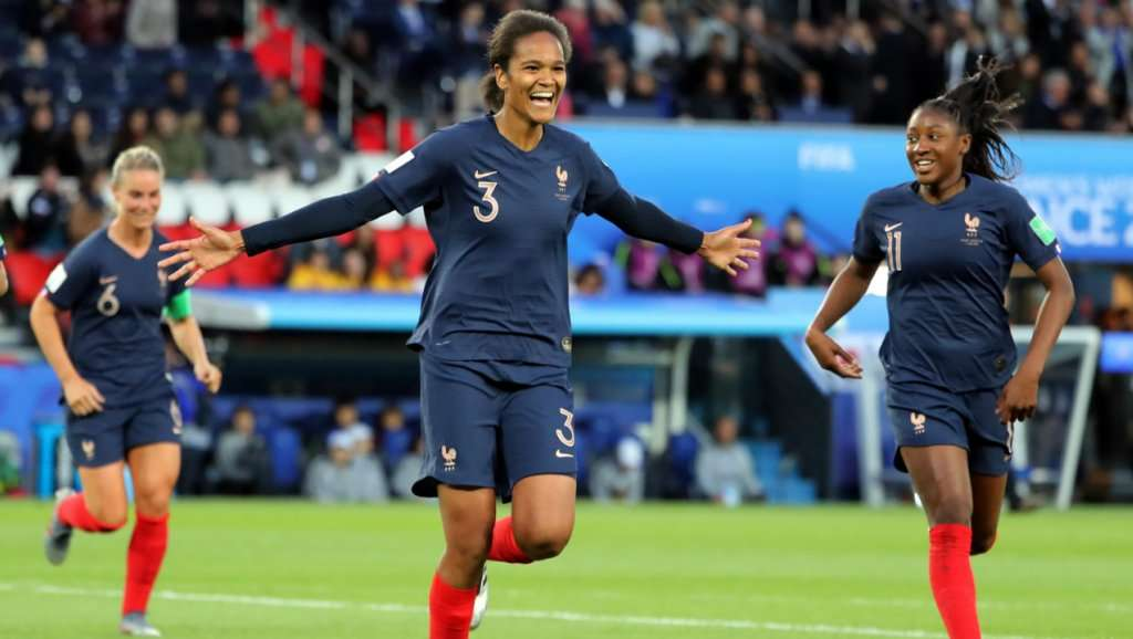 France Top South Korea 4-0 In Women's Football World Cup Opener