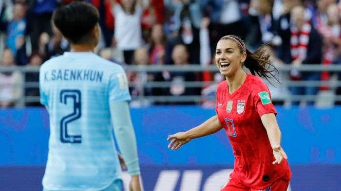 FIFA Women's World Cup: United States Trash Thailand 13-0 To Claim Biggest World Cup Score