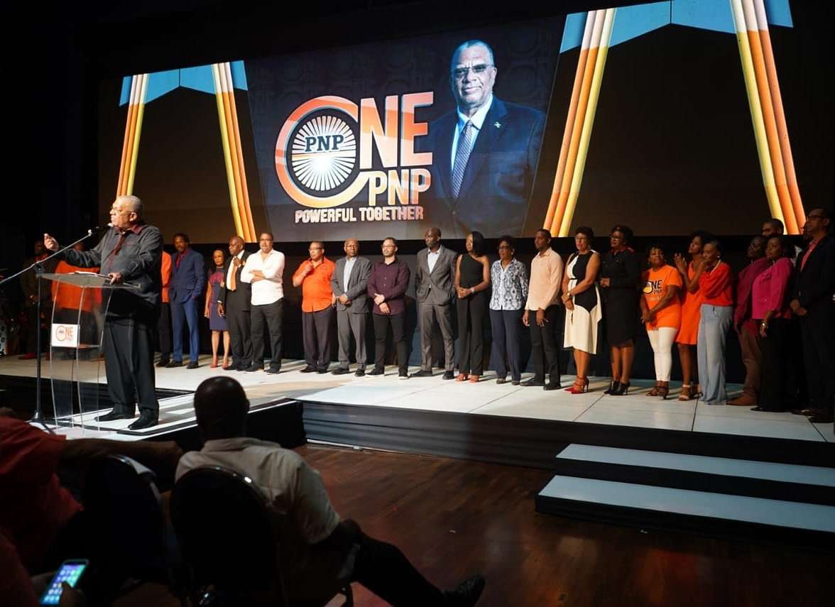 Phillips Chides Critics At Campaign Launch To Remain As PNP President