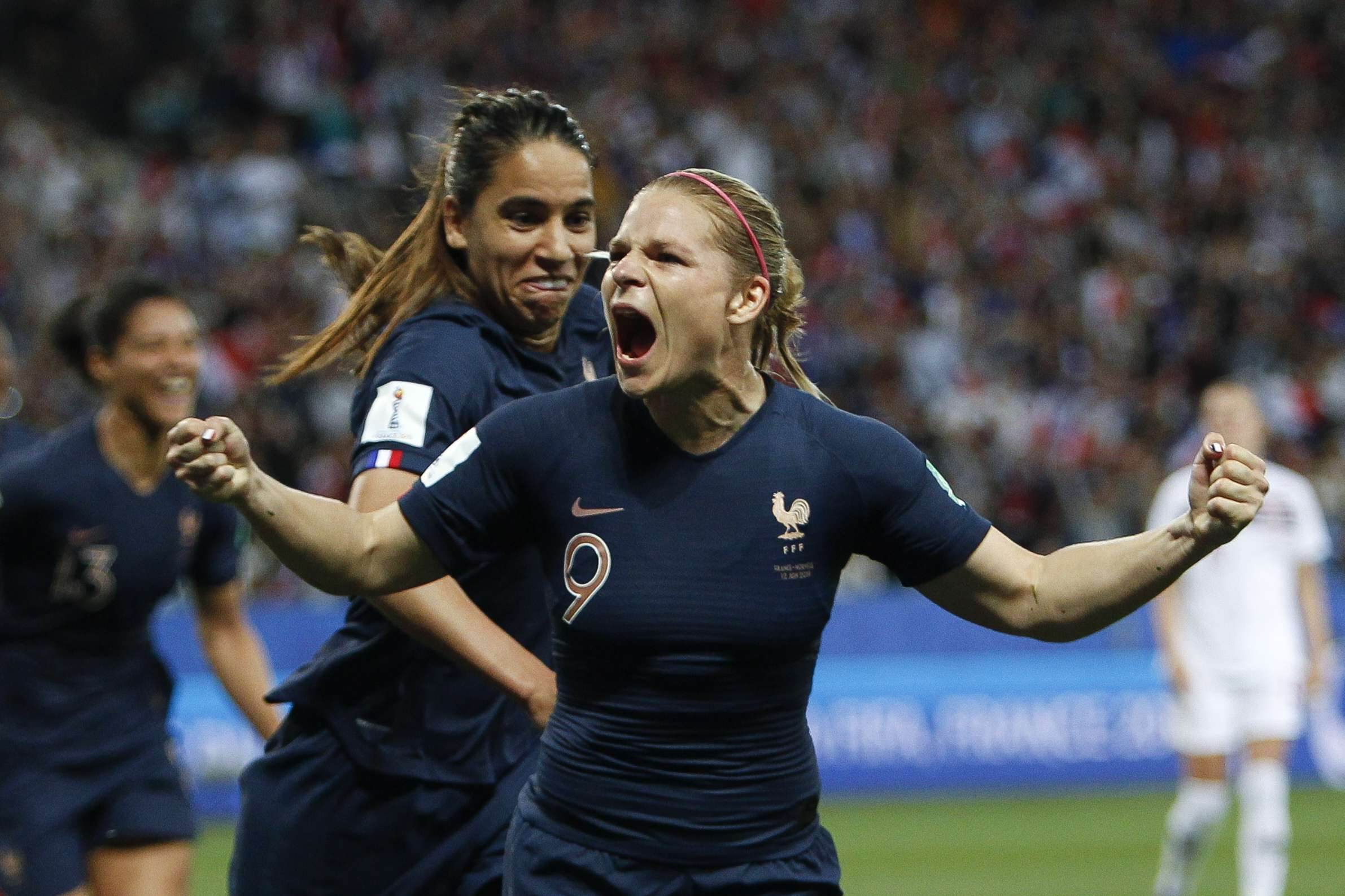 FIFA Women's World Cup: France Defeats Norway 2-1