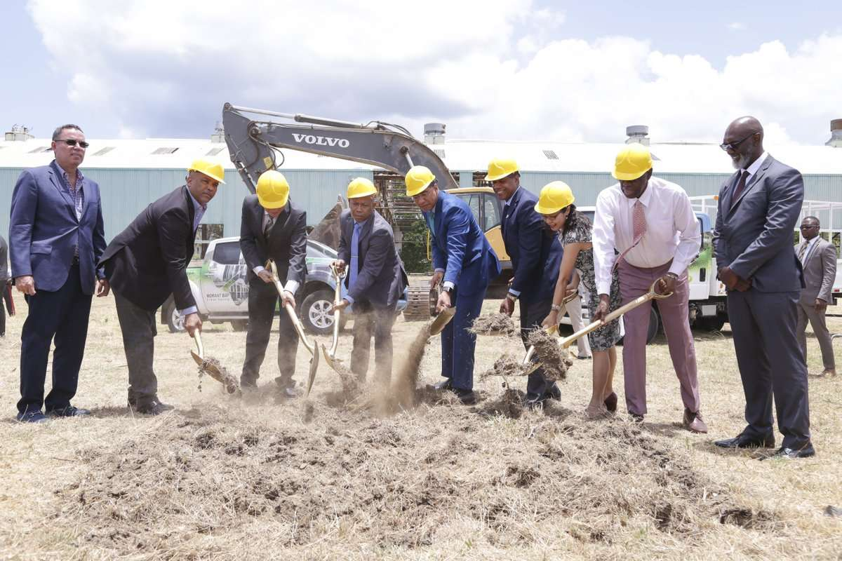 Holness Breaks Ground For Urban Centre In Morant Bay In Big Push To Bring Jobs To St. Thomas