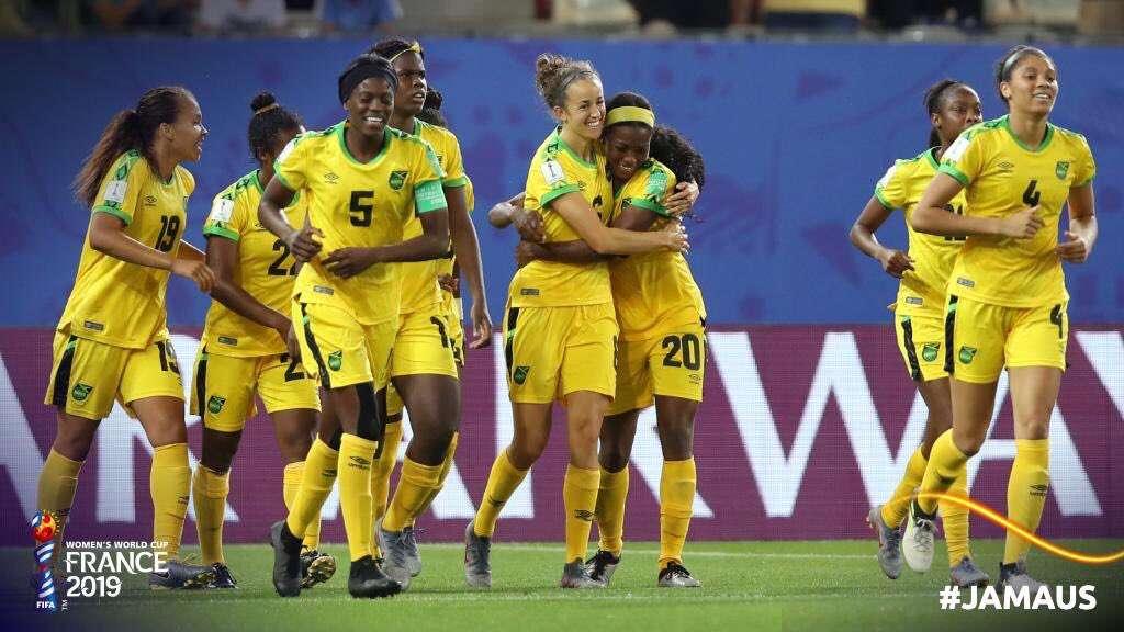 Reggae Girlz Score 1st World Cup Goal In A Losing Effort
