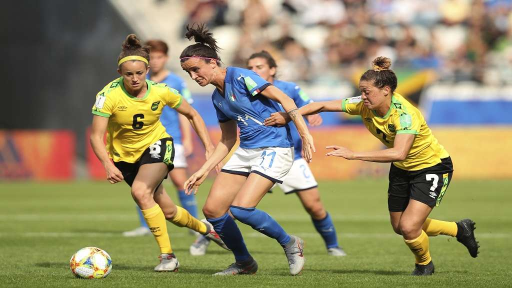 Reggae Girlz Get 5-0 From Italy