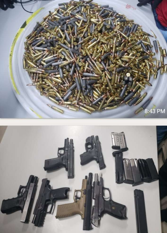 Police Seize 1600 Rounds of Ammos, 6-Guns At Freeport Wharf In Montego Bay