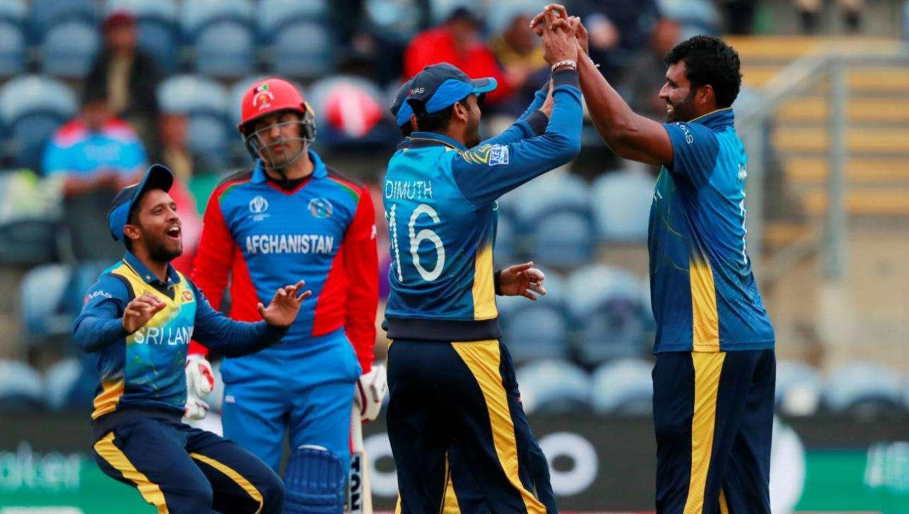 ICC World Cup: Sri Lanka Defeats Afghanistan