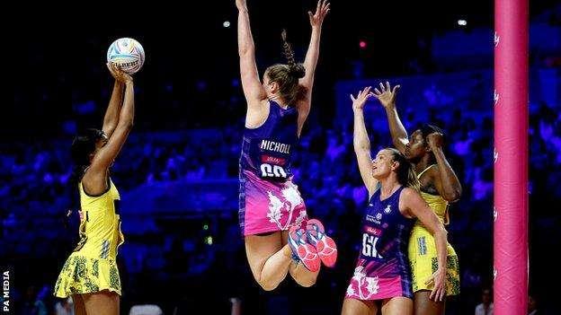 Sunshine Girls Thrash Scotland in Netball World Cup Match
