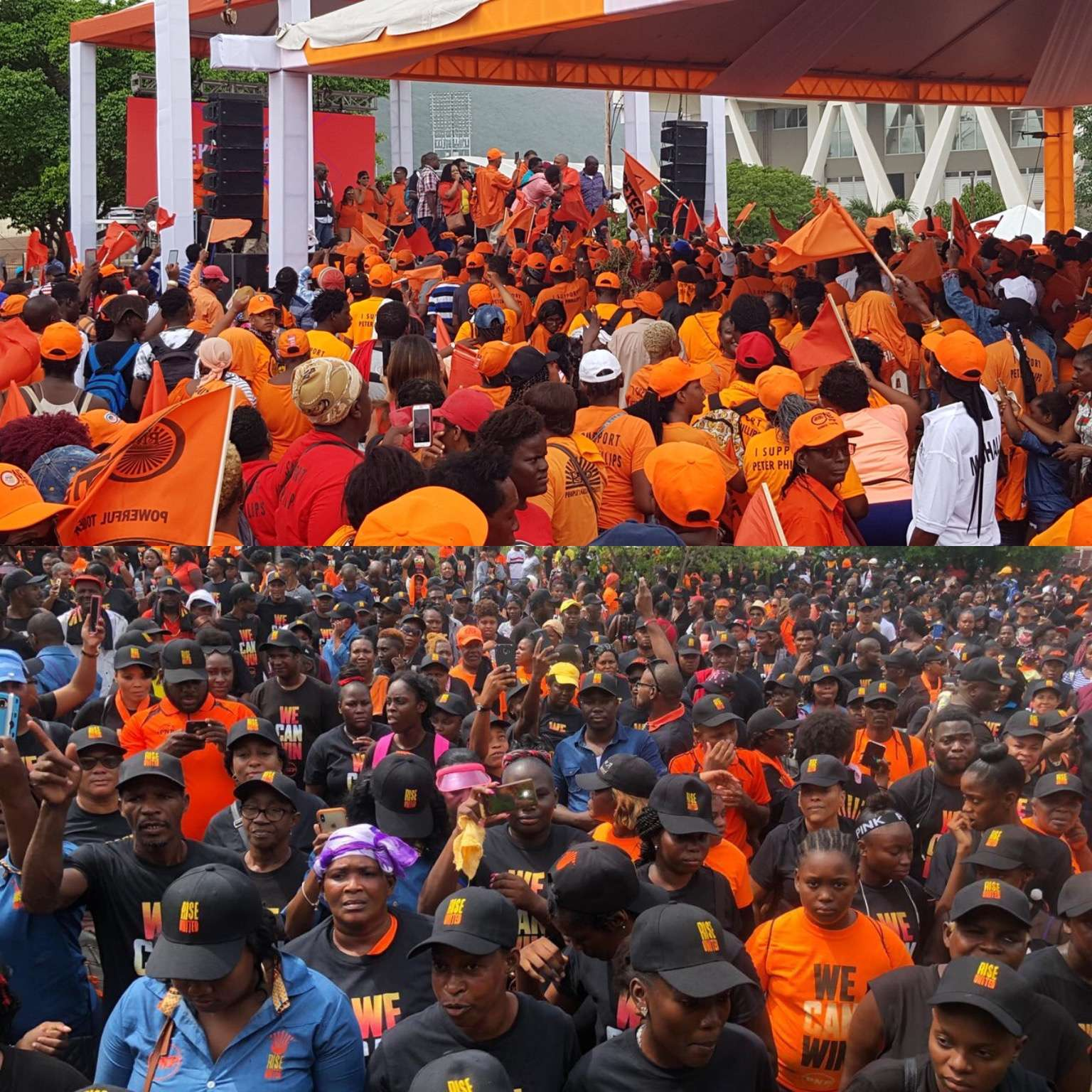 'OnePNP, RiseUnited' Campaign Supporters Upbeat As Candidates Seal Candidacy