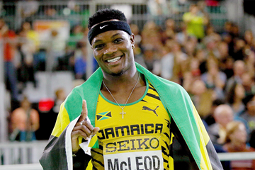 Omar McLeod Not Consistent  So Far This Season – Lawrence