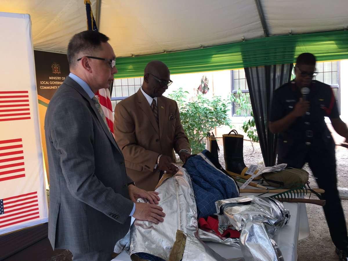 US Embassy Donates Over $30m Equipment to Fire Brigade