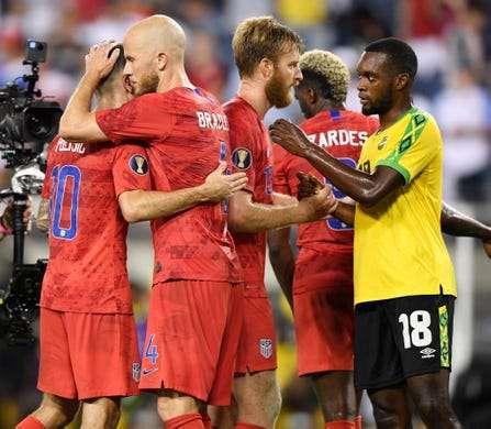 USA Defeat Reggae Boyz to Book  Gold Cup Final