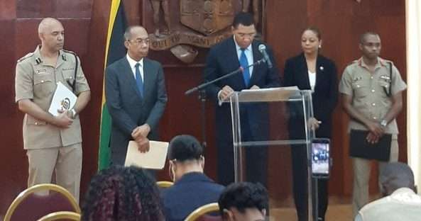 PM Announces the Declaration of SOEs in Clarendon & St. Catherine