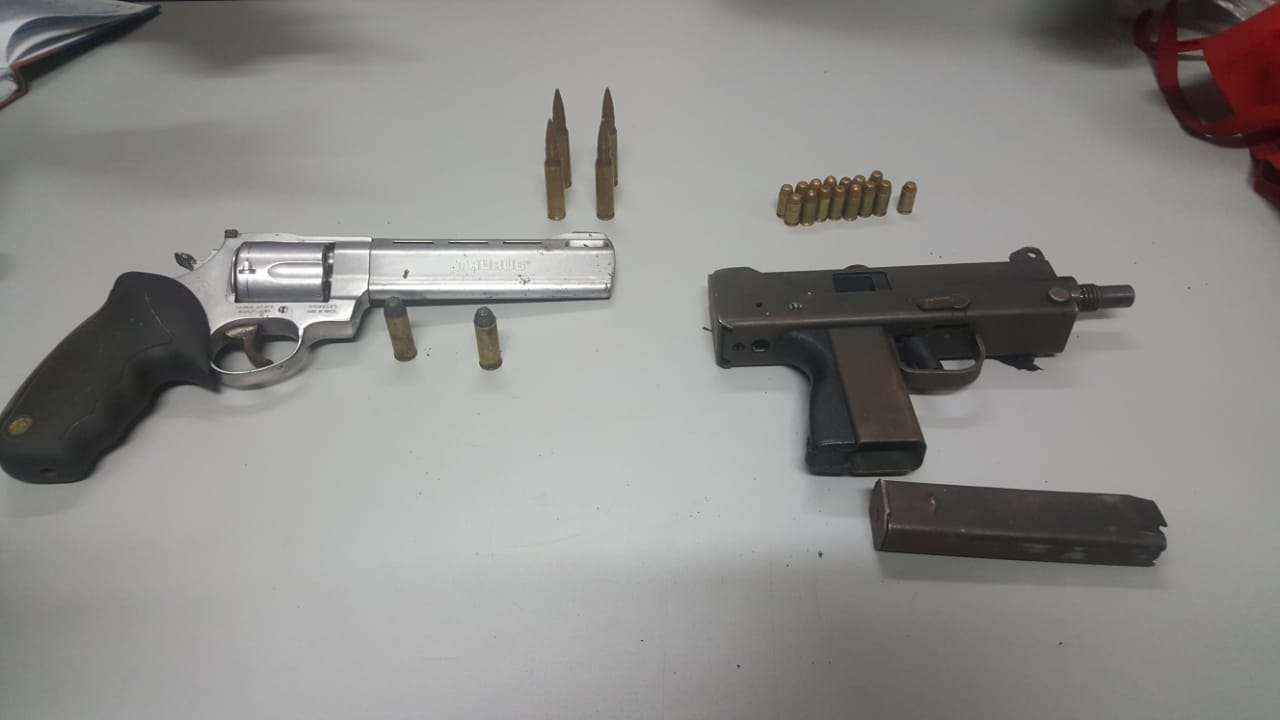 Firearms and Ammunition Seized on Gold Street, Kingston