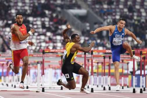 DOHA 2019: Team Jamaica Fails To Improve Medal Tally After McLeod Crashes Out