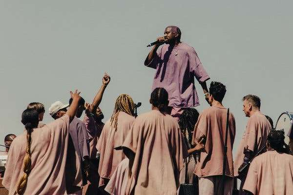 Culture Minister Elated As Ye Comes To Kingston With Sunday Service