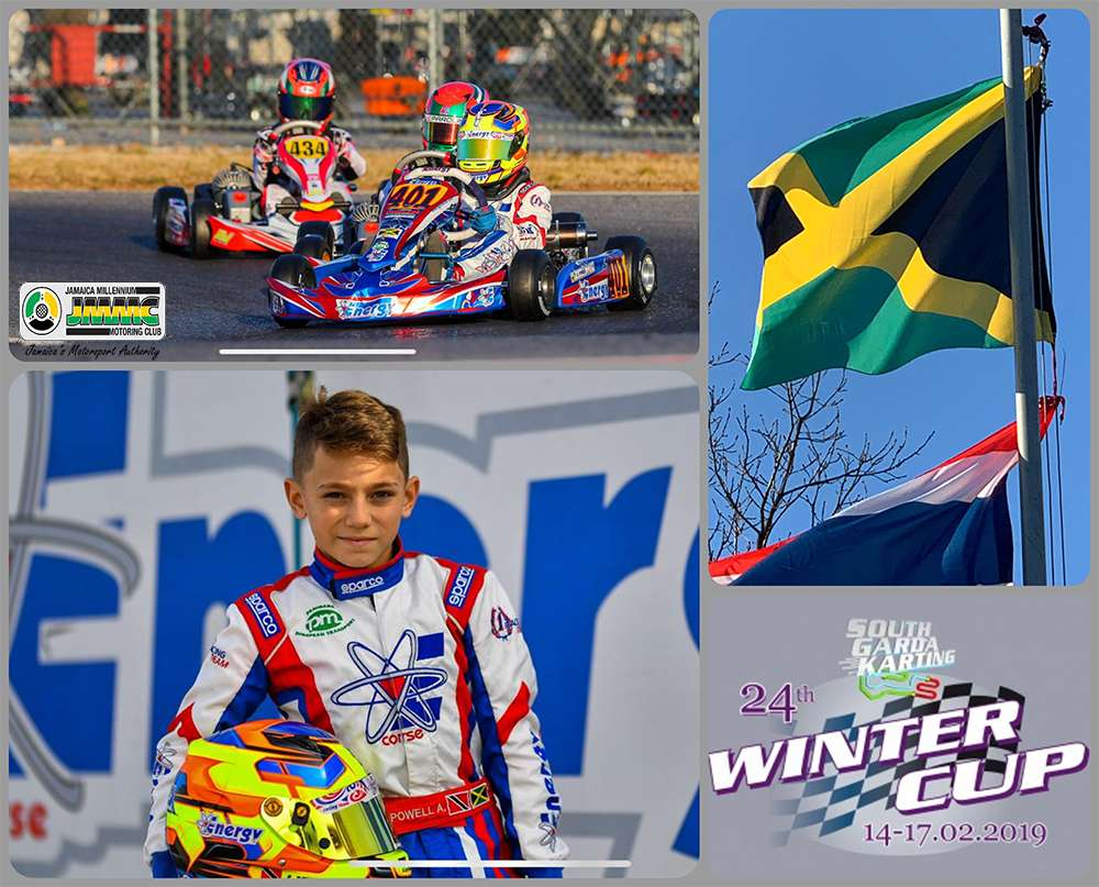 Jamaican Kart Racer Finishes 2nd In International Event