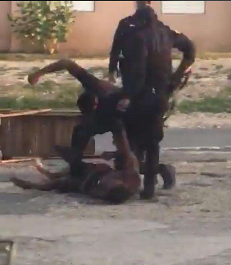Denham Town Residents Demonstrate Against Alleged Police Brutality Captured On Video Gone Viral