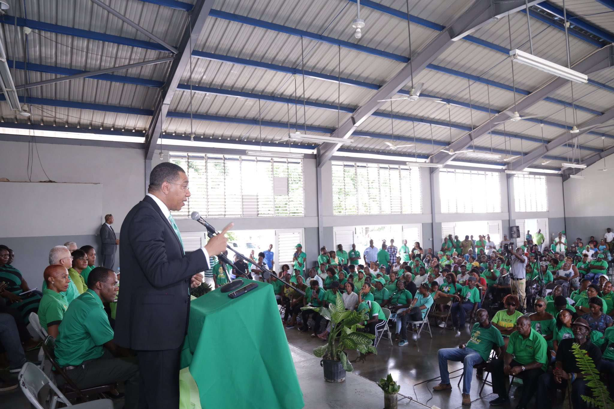 Holness Says Gov't Will Support Anti-corruption Fight