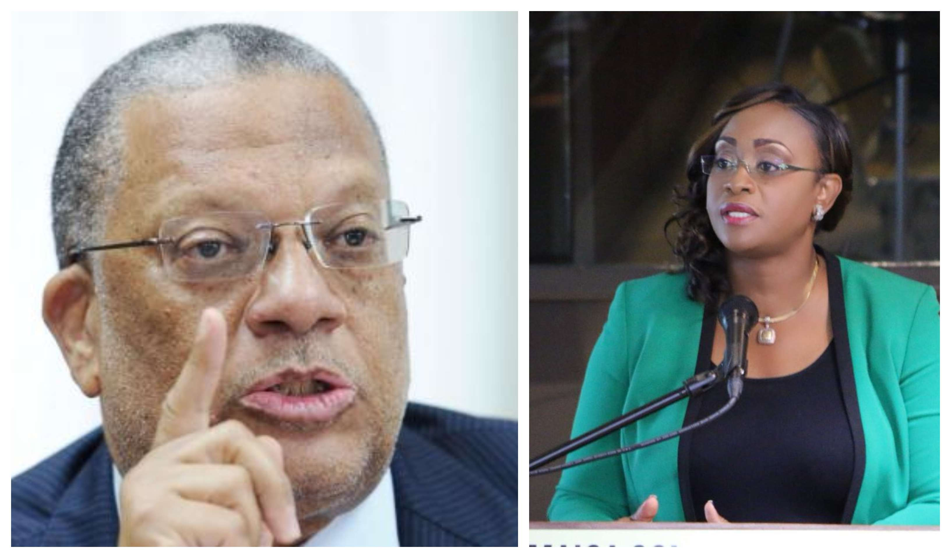 Juliet Holness Jabs Phillips Over Intellectual Capacity, Image