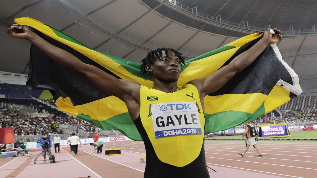 Long Jump World Champion Tajay Gayle, Eyeing 100 metre  Sprint in Tokyo Olympics