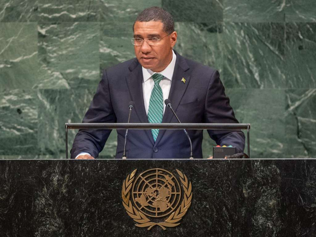 At UN Meeting, Holness Calls For Global Economic Unity & Warns Pandemic Threatens Sustainable Development