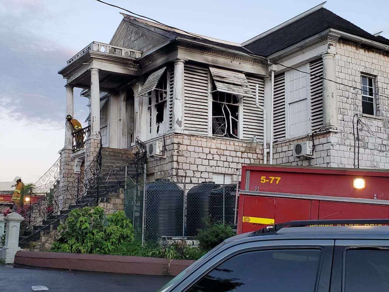 """Fire At Mandeville Court Started In Judge's Chamber, """"All Files Burnt""""-  Mayor"""