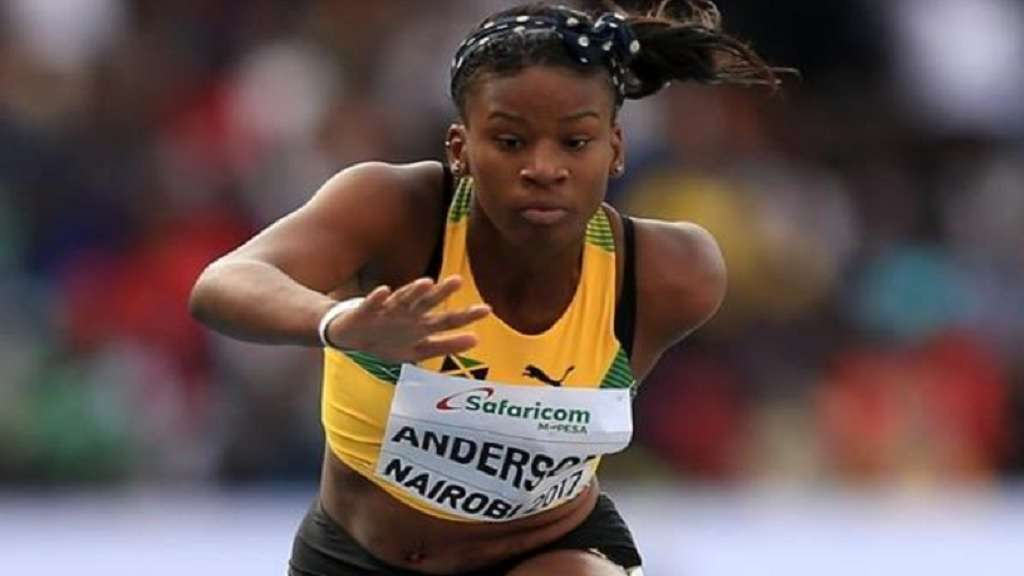 Jamaica's Britany Anderson, Only Caribbean Athlete Shortlisted For IAAF Rising Star Award