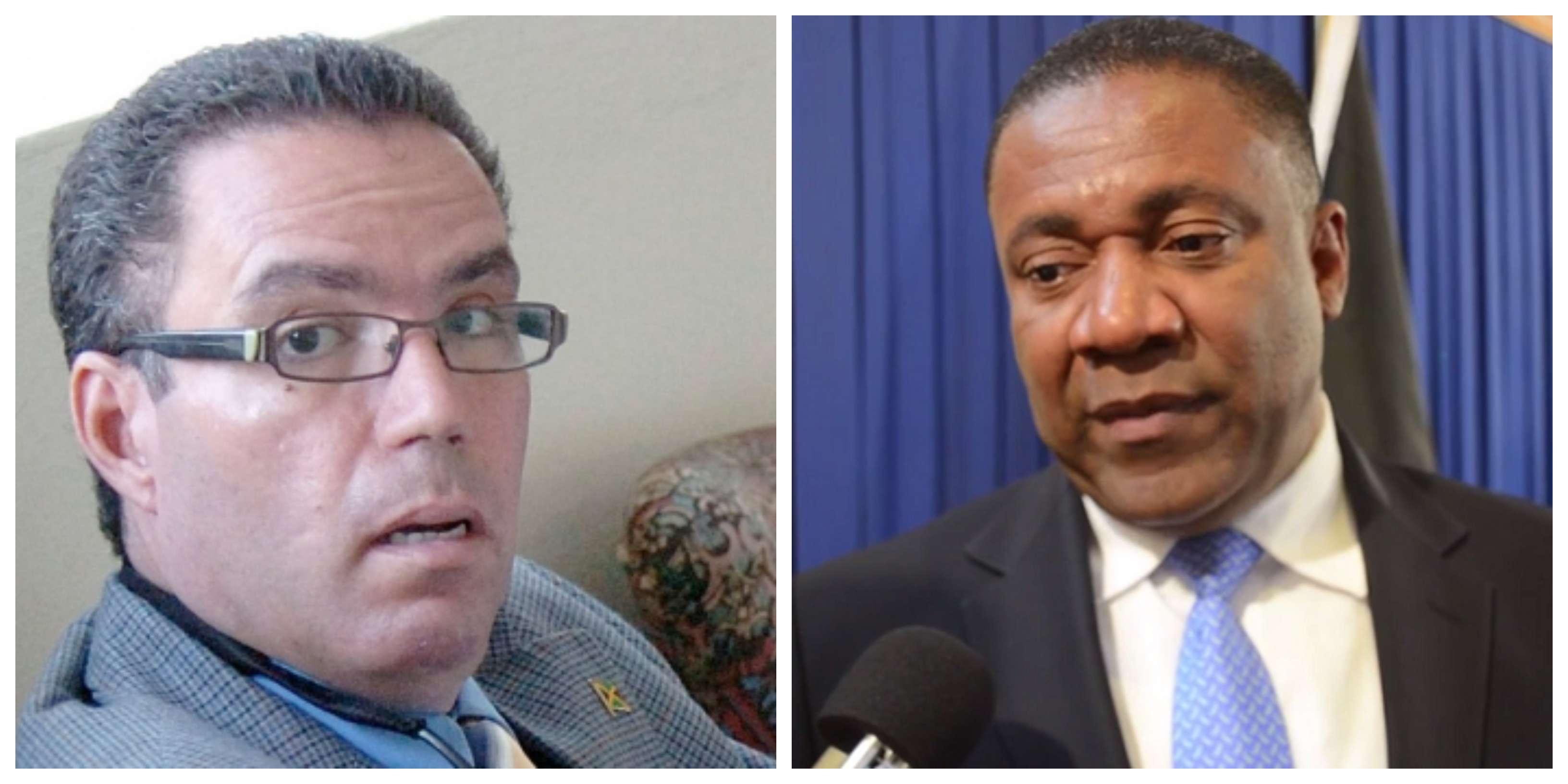 US Revokes Visas Of Daryl Vaz, Phillip Paulwell