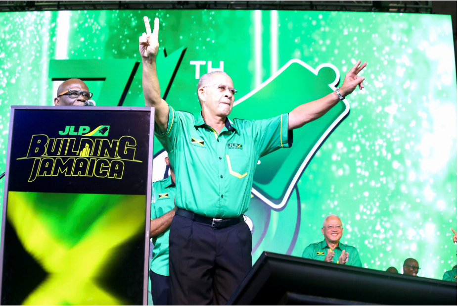Golding Says He's Confident Holness Will Lead JLP To Second Term
