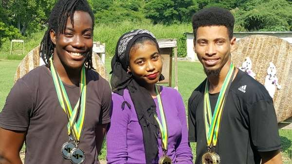 Street Crowned Champion At Jamaica Rifle Association's Beginners Archery Tournament