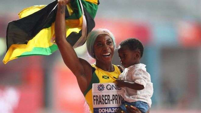 Wearing Colored Wigs Does Not Mean I'm Not Embracing My Blackness: Fraser-Pryce