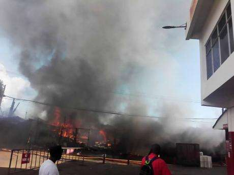 Scores Of Vendors Affected By May Pen Market Fire