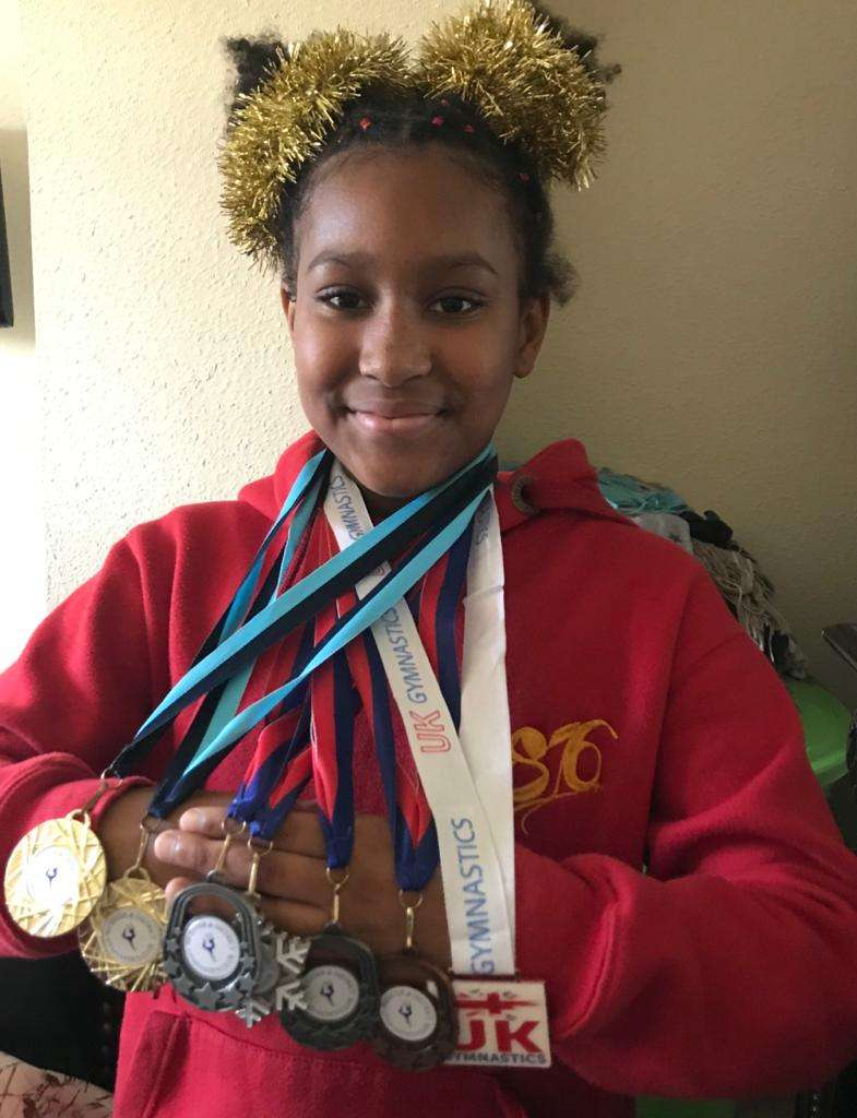 Ramona Burrell Wants To Represent Jamaica In Gymnastics