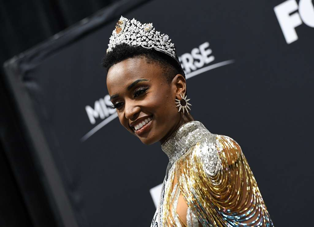 South Africa's Zozibini Tunzi is Miss Universe 2019