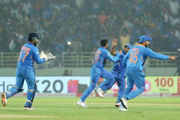 India Beat WI By 107 Runs To Level ODI Series
