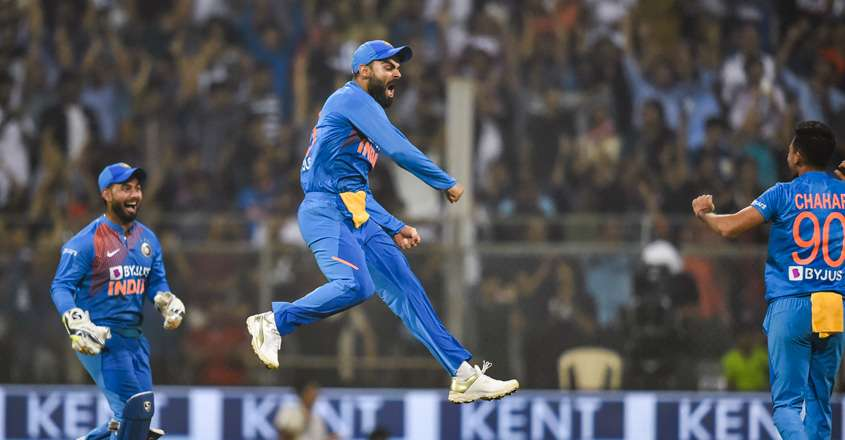 India Beat WI by 67 Runs To Win T20 Series 2-1