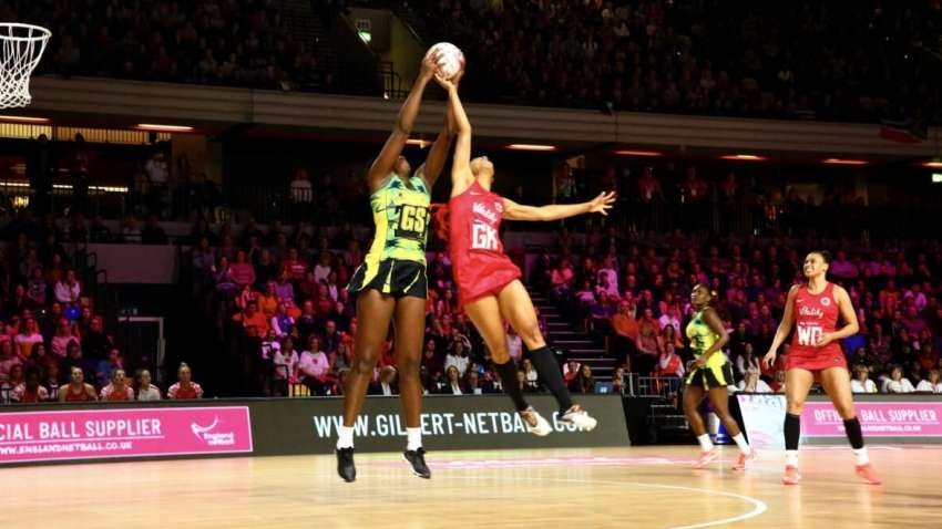 Sunshine Girls Pick Up Silver In Inaugural Vitality Nations Netball Cub