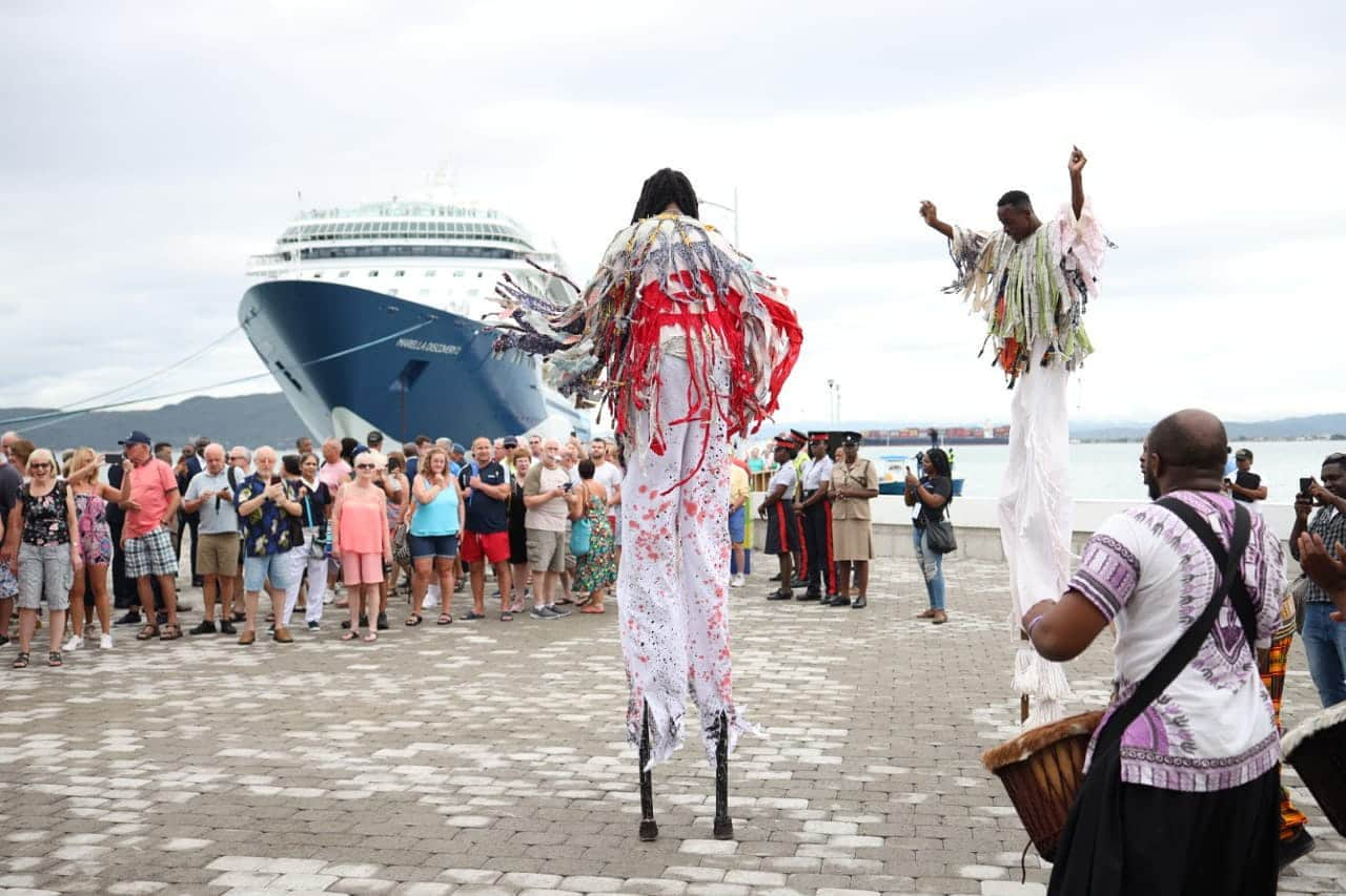 'A Significant Move For Small Businesses' – Port Royal Hosts Almost 2,000 Tourists In Historic Opening