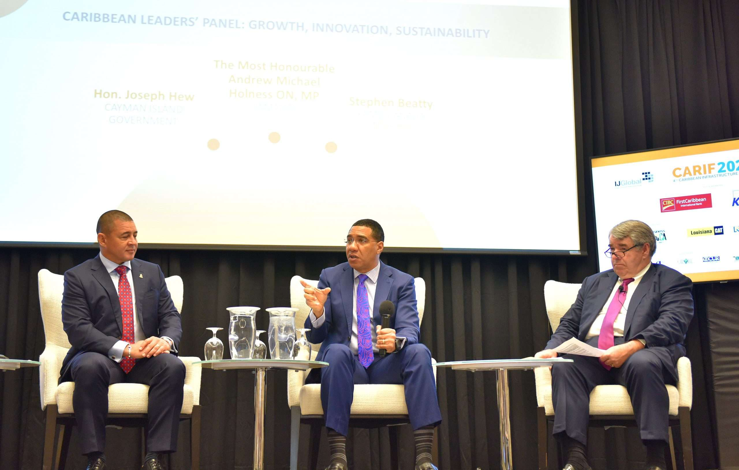 Infrastructure Development Can Be A Win-Win For Everyone – Holness