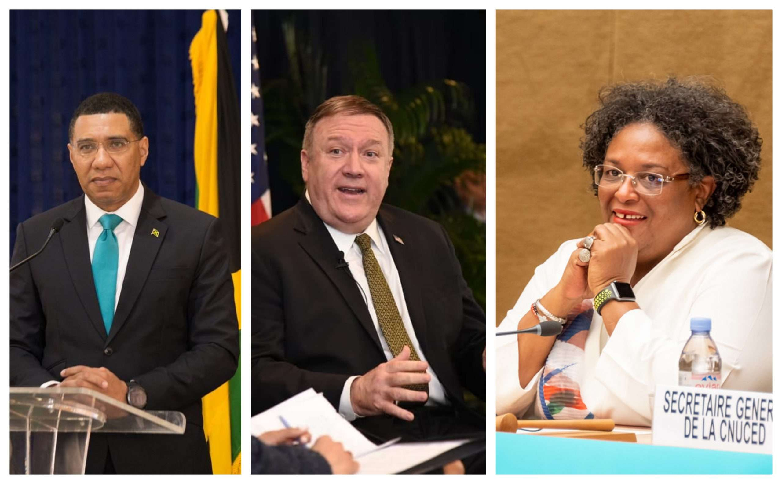 PM, Pompeo Reject Claim US-Caribbean Meeting Was Attempt To Divide CARICOM