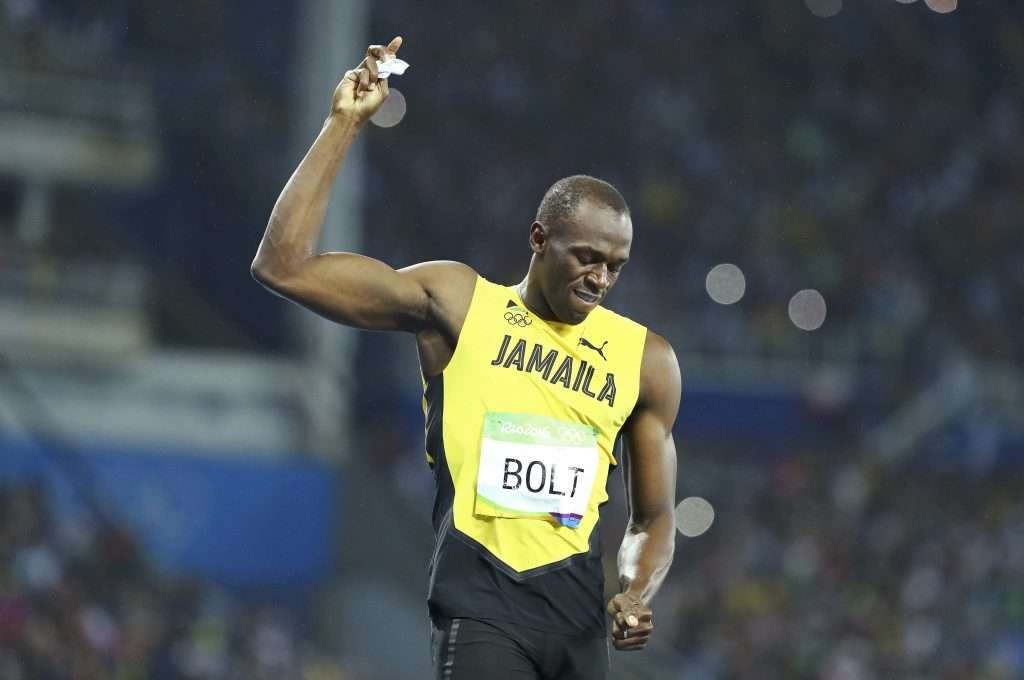 Bolt Sends Encouraging Word To Young Athletes Preparing For 2020 Youth Winter Olympics