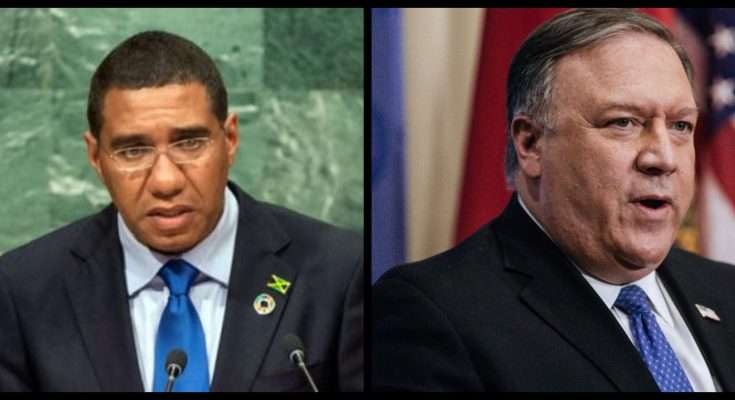 US Secretary of State, Mike Pompeo, Set for Official Visit to Ja for Talks on Trade & National Security