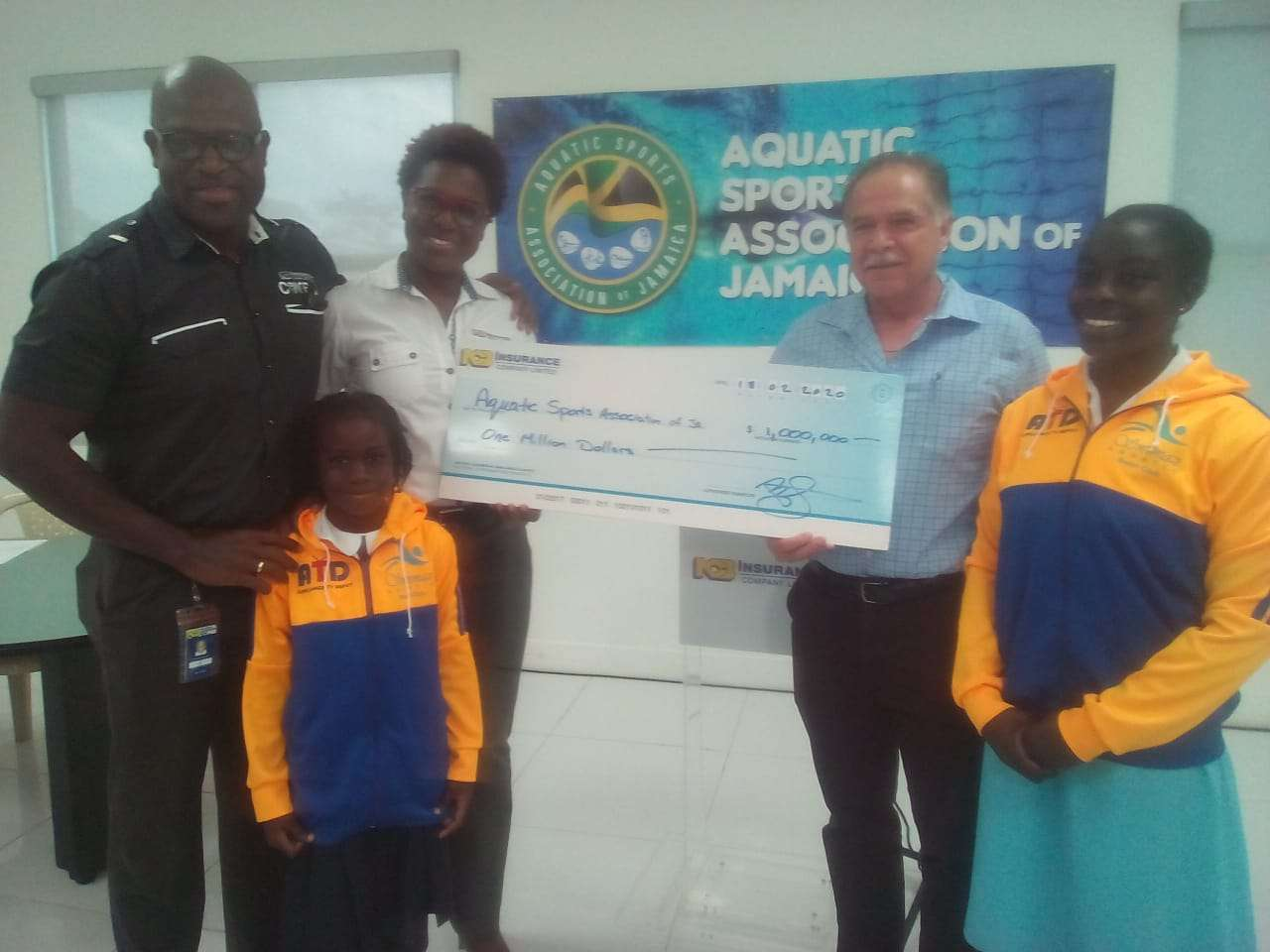 NCB Pumps $1 Million Into 2020 Staging Of Walter Rogers Age Group Swimming National Championships