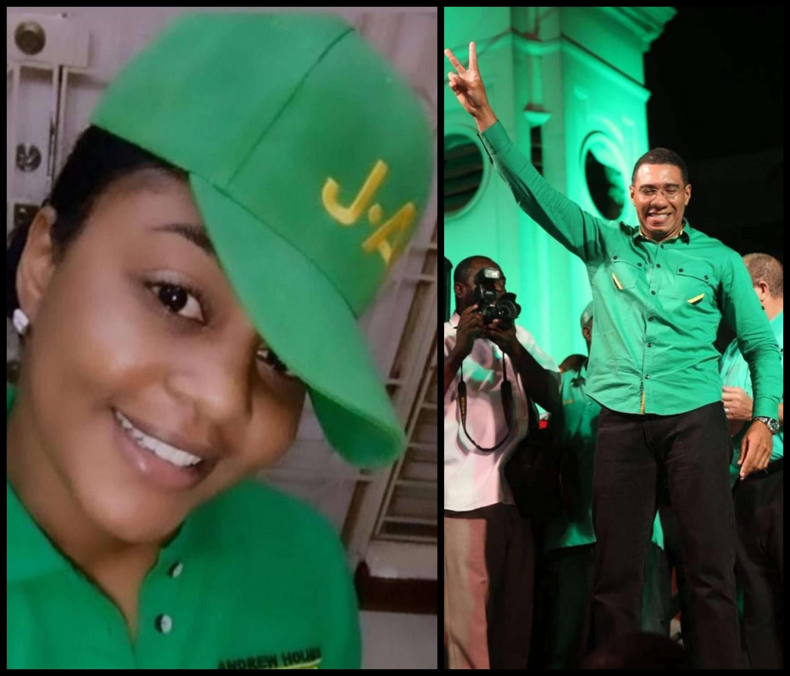 """Kari Made The Right Decision"" – Holness Welcomes Kari Douglas Joining JLP"