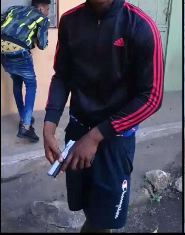 Police Seek Males Brandishing Firearm In Viral Video